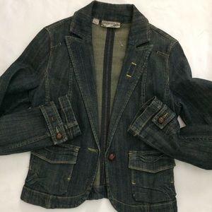 MNG Demin Jacket Sz M